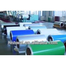PE et PVDF Bobine en aluminium recouverte de couleur 1100 3003 3105 5052.