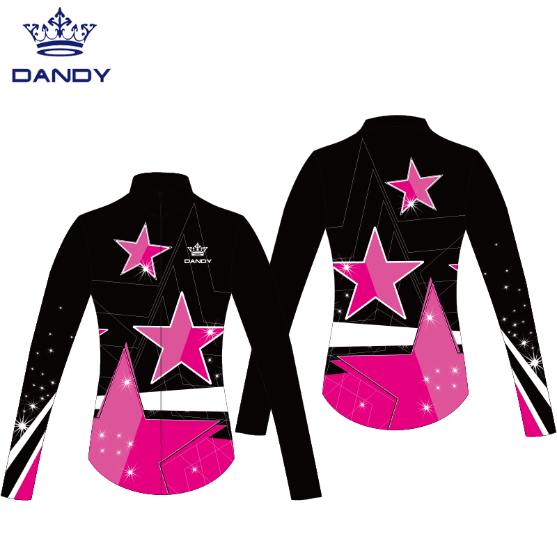 dance jackets with rhinestones