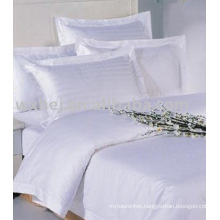 Cheap popular hotel cotton bedding set