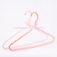Pet Pearl Beads Elegant White Color Hanger Clothes