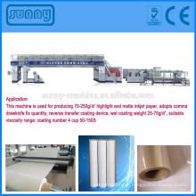 Machines professionnelles fabricant jet d'encre type extrusion couchage du papier machine de laminage