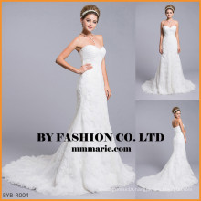 2016 sexy mermaid wedding dress lace fabric Panel Train mermaid sweetheart wedding dresses