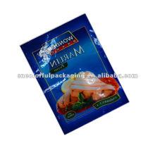 bolsas de embalaje de alimentos congelados reutilizables para carne