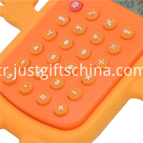 Promotional Colorful Cartoon Shaped Calculator_3