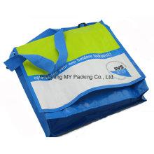 Cusrtom gefaltete Adjust Strap Printed Glossy Schultertaschen