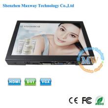 VESA mounting or desktop small 10 inch VGA monitor with LED backlit