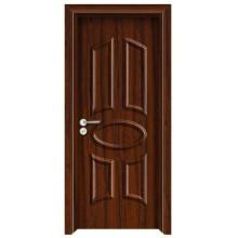 Projeto nivelado da porta do PVC
