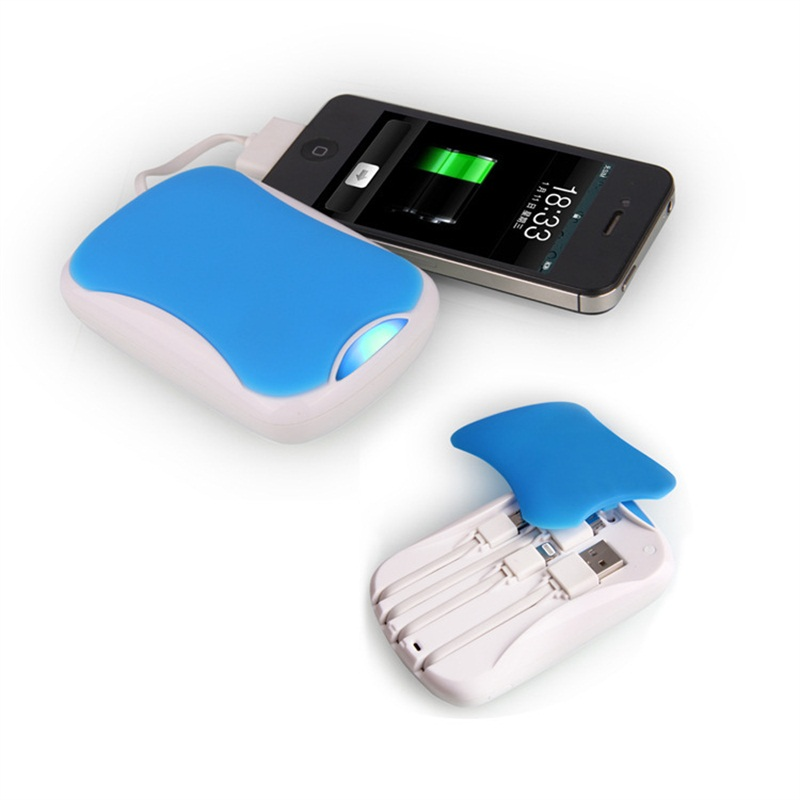 Power Bank Built-in Charging Line