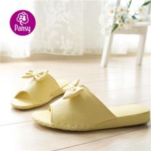 Pansy confort chaussures pantoufles d'intérieur de brioche en forme de papillon pour dames