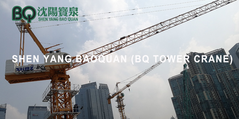 Potain Luffing Tower Crane