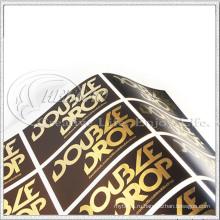 Металлическое золото наклейки (кг-ST025)