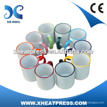 smart Cheap Inner Colored Sublimation Mug Wholesale