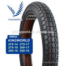 neumáticos de la motocicleta de calle patrón hechos en China