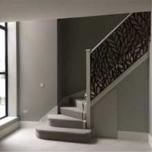 Laser Cut Metal Railing