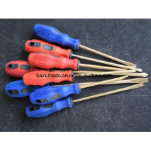 6*150mm Non Sparking Copper Alloy Screwdriver, Brass Screwdrivers