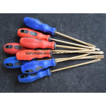 6*150mm Non Sparking Copper Alloy Screwdriver, Brass Screwdrivers