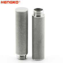 Ex-factory Price 10-15 UM 316L Sintered Metal Filter Element /Stainless Steel Porous Powder Sintered Filter Used In Filter