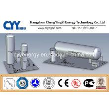 Horizontal Insulation Storage Tank with Asme Certification
