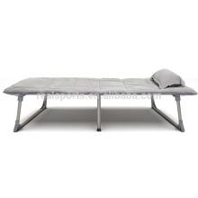 A cama de dobramento saudável macia do metal fácil abre e dobrando-se relaxa a cama do convidado
