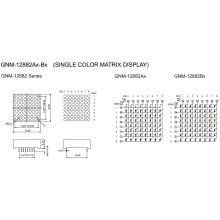 1,2 pulgadas, 3,0 mm DOT (GNM-12882Ax-Bx)