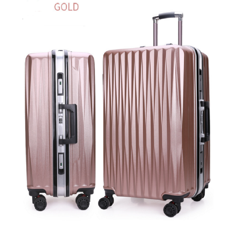 Gold Trolley Luggage