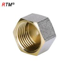J17 4 12 encaixe de encaixe de extremidade de encaixe de bronze