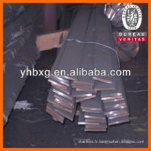Aciers laminés à chaud en acier inoxydable barre plate