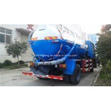 Caminhão de sucção de esgoto de vácuo 10m3 com 4X2 chassi