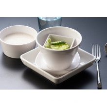 Melamin White Series Geschirr / Food-Grade Melamin / Geschirr