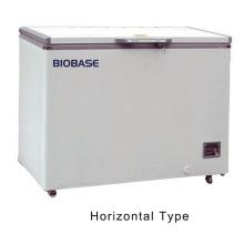 Biobase Certificado CE -25 centígrado 110L-508L congelador horizontal del pecho