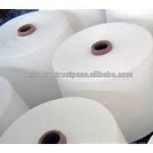 100% Polyester yarns- VIETNAM YARN / raw white/ PE 30/1