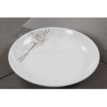 China ceramic factory wholesale good looking New Bone China Plates