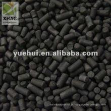 carbono ativado cilíndrico para recuperação de solventes