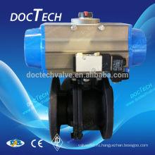 DIN3202 Углеродистая сталь фланцевый шаровой кран