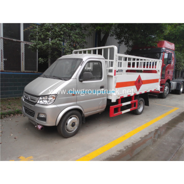 Small 4x2 Liquefied Gas Cylinder Transport Truck