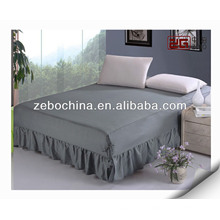 wholesale high quality cotton hotel bed skirt