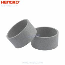 Wholesale 316 316L porous media sintered powders stainless steel metal filter tube air purifier hepa filter