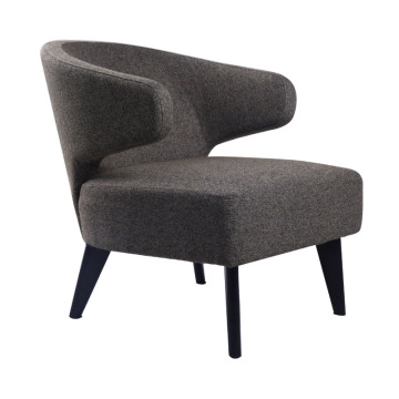 Modern fabric lounge chair atacado
