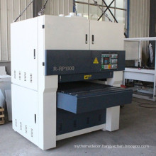 Reliable quality wide belt sander machine in plywood plant