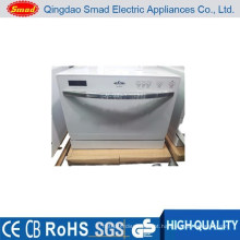 WQP6-3206B branco / prata / preto mini casa de lavar louça portátil