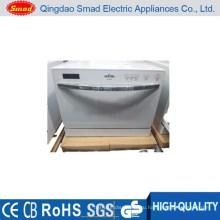 WQP6-3206B белый/серебристый/черный миниый домашний портативный посудомоечная машина