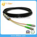 FC impermeable al aire libre Fibra óptica pigtail (cable impermeable)