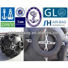 CCS certificate Steel workboat rubber Tyre fenders