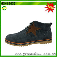Sapato de couro novo estilo sapatos de sapatos para homens
