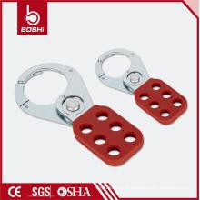 """OEM Acceptable! BOSHI BD-K01 / K02 Étiquette de verrouillage Hasp en acier avec poignée revêtue PA, 1 """"/ 1,5 grille"""