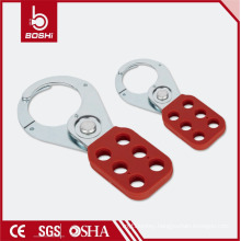 "OEM Acceptable ! BOSHI BD-K01/K02 Lockout Tagout Steel Hasp with PA Coated Handle, 1""/1.5"" Shackle"