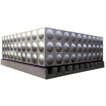 Tanque de água de aço corrugado do tanque de água refrigerar de aço inoxidável da soldadura do cubo