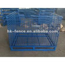 Wire Mesh Container/Supermarket Storage Cage