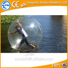 La bola de despedida del agua interesante de la mejor calidad, bolas inflables del paseo del agua para la venta
