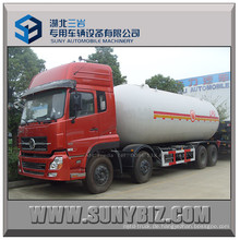 13t Dongfeng Kinland 8X4 LPG Gas Tankwagen